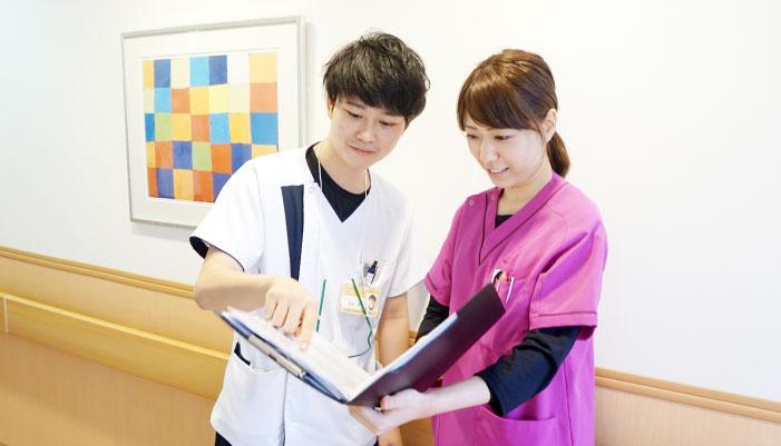 山口県下関市-下関リハビリテーション病院の管理栄養士チーム